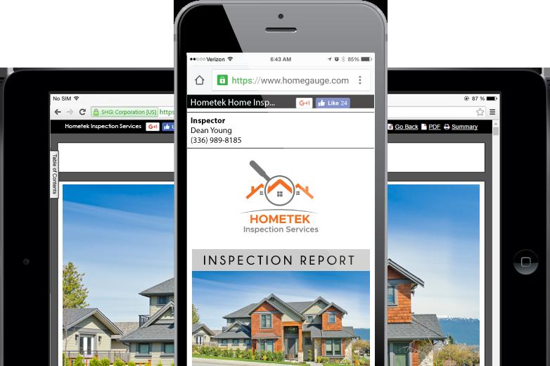 Homegauge CRL Digital Home Inspection Report